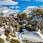 Snow At Idwal by Darren Wilkes