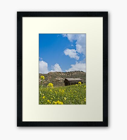 Of Times Gone By Framed Print