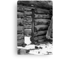 An Old Cabin Canvas Print