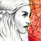 Daenerys Targaryen by LiamShawberry