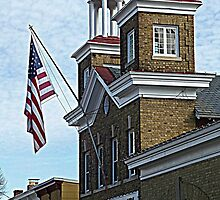Scene from historic Annapolis, MD  by Bine
