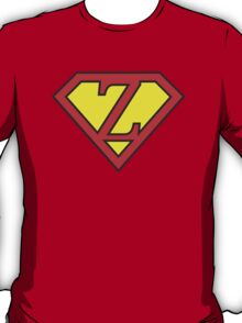 Z letter in Superman style T-Shirt
