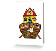 Cute Noahs Ark Greeting Card
