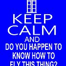 Keep Calm & Do You Happen To Know How To Fly This Thing? by Chris Johnson