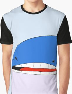 Meh Whale Graphic T-Shirt