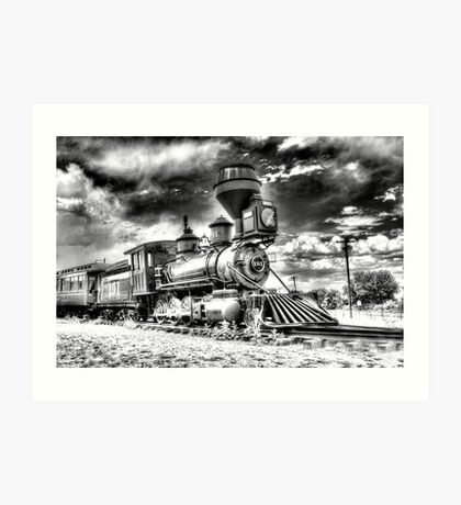 Denver Leadville & Gunnison No. 191 (N) B&W Art Print