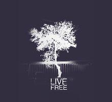 Live Free Tree Unisex T-Shirt