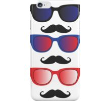 Glasses with Moustaches iPhone Case/Skin