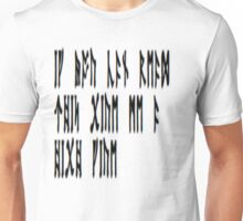 If you can read this give me a high five Unisex T-Shirt