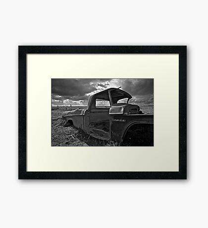 Fargo Tough Framed Print