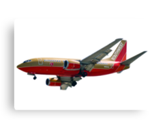Southwest Airlines Boeing 737-500 Canvas Print