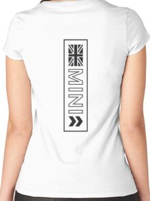 MINI - Union & Arrows Women's Fitted Scoop T-Shirt