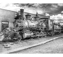 Denver & Rio Grande Western No. 346 B&W Photographic Print