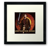 Unification Wars Framed Print
