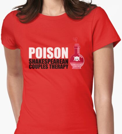 Shakespearean Couple's Therapy Womens Fitted T-Shirt