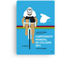 MY UCI Road World Championships MINIMAL POSTER 2014 Canvas Print