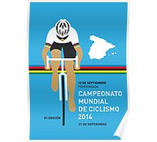 MY UCI Road World Championships MINIMAL POSTER 2014 Poster