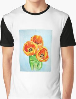 Beautiful Tulips Graphic T-Shirt