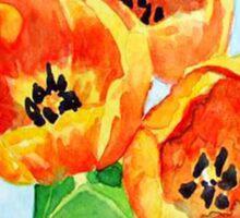Beautiful Tulips Sticker