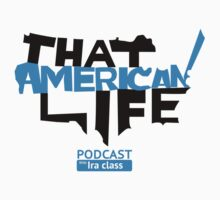 That American Life Sticker by Iraclass