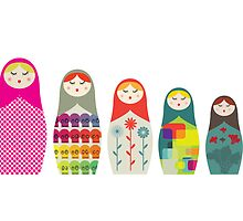 Russian Dolls by malobi