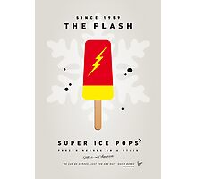 My SUPERHERO ICE POP - The Flash Photographic Print