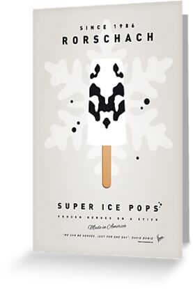 My SUPERHERO ICE POP - Rorschach by Chungkong