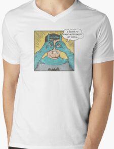 Lolman Mens V-Neck T-Shirt