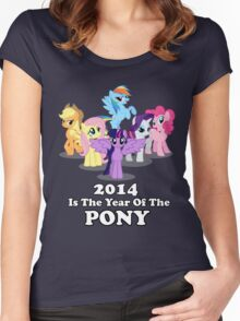 Year of the Pony Women's Fitted Scoop T-Shirt