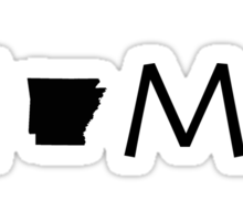 ARKANSAS HOME Sticker