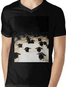 Wrong Neighborhood ! (FULL) Mens V-Neck T-Shirt