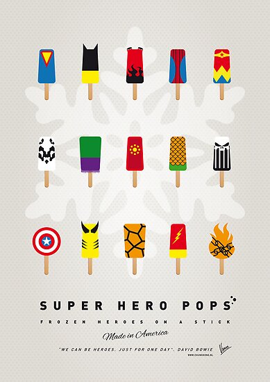My SUPER ICE POP - Univers by Chungkong