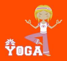 Yoga Girl Kids Tee