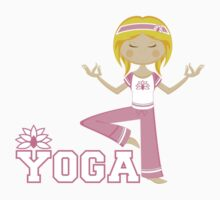 Yoga Girl Kids Tee