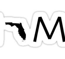 FLORIDA HOME Sticker