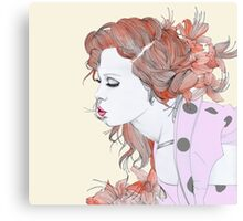 Orange Kiss Canvas Print