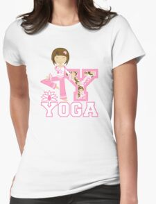 Yoga Girl Womens Fitted T-Shirt
