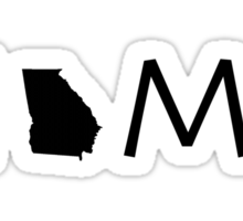GEORGIA HOME Sticker