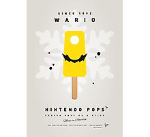 My NINTENDO ICE POP - Wario Photographic Print
