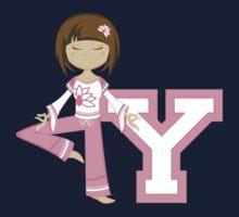 Y is for Yoga Kids Tee