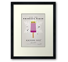 My NINTENDO ICE POP - Princess Peach Framed Print
