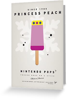 My NINTENDO ICE POP - Princess Peach by Chungkong