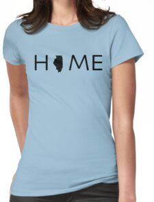 ILLINOIS HOME Womens Fitted T-Shirt