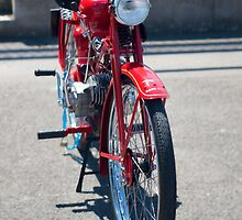 Moto Guzzi vintage motorcycle by Martyn Franklin