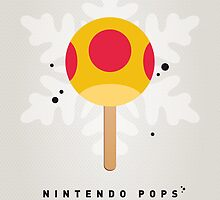 My NINTENDO ICE POP - Mega Mushroom by Chungkong