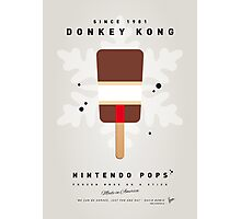 My NINTENDO ICE POP - Donkey Kong Photographic Print