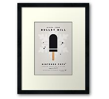 My NINTENDO ICE POP - Bullet Bill Framed Print