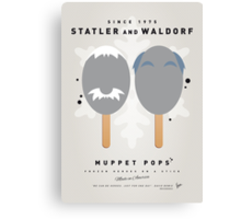 My MUPPET ICE POP - Statler and Waldorf Canvas Print