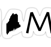 MAINE HOME Sticker