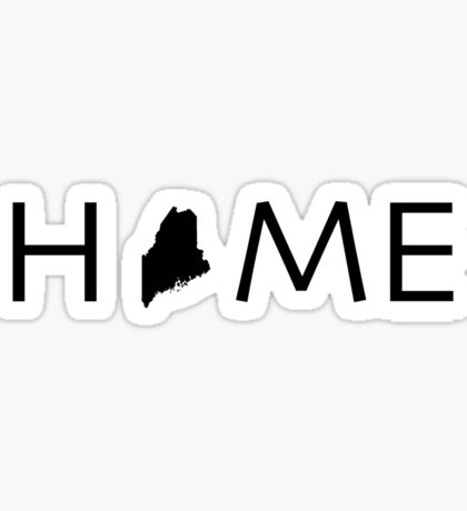 MAINE HOME Sticker